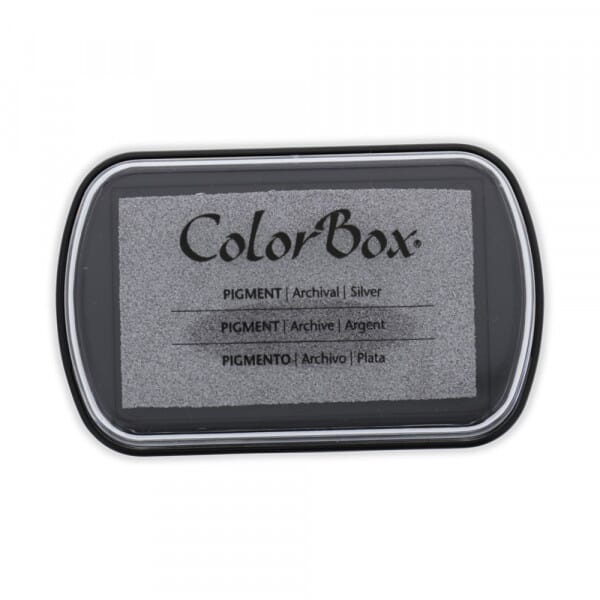 Clearsnap Colorbox - Silber metallic Stempelkissen (10 x 6,3 cm)