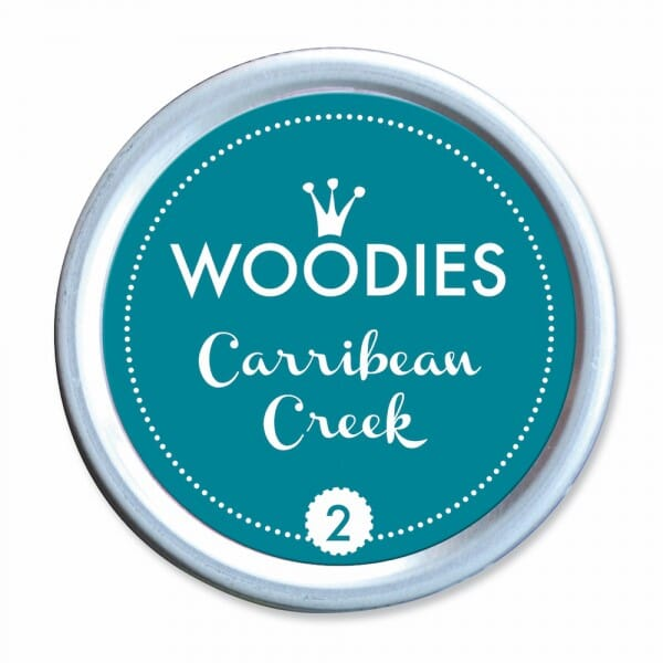 Woodies Stempelkissen - Carribbean Creek