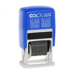 Colop S 120/W (21x4 mm)
