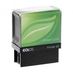 Colop Printer 20 Green Line (38x14 mm - 4 Zeilen)