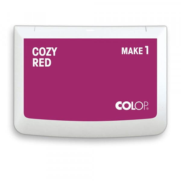 "COLOP Stempelkissen MAKE 1 ""cozy red"" (90x50 mm)"