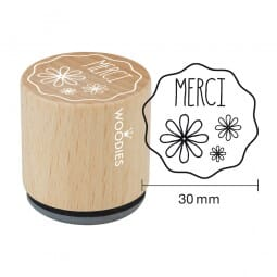 Woodies Stempel - Merci - 2