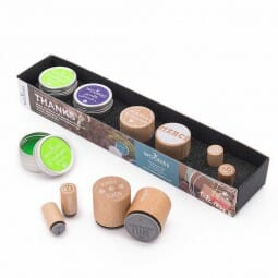 Woodies Stempel SET - Danke WS0001