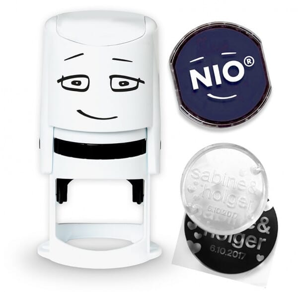 NIO Stempel noble blue