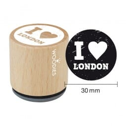 Woodies Stempel - I love London