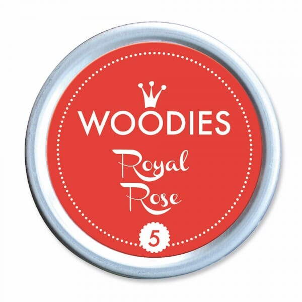 Woodies Stempelkissen - Royal Rose