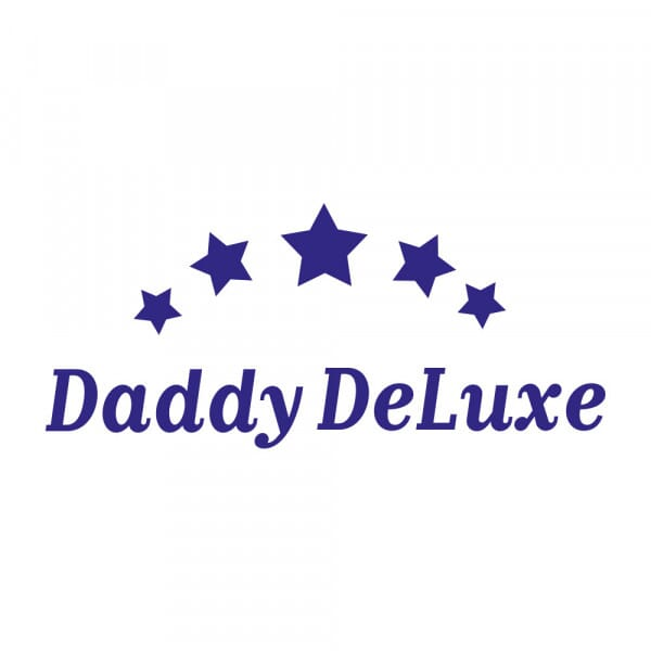 Vatertag Holzstempel - Daddy deluxe (60x30mm)