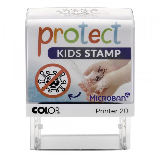 Protect Kids Stamps - Colop Printer 20 Microban (38x14 mm)