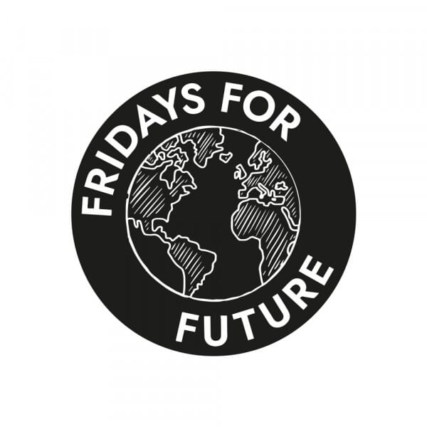 Fridays for Future - Welt (Ø 50 mm)