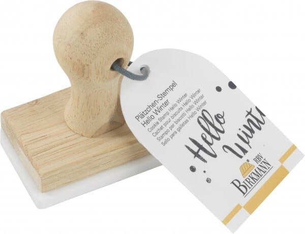 Birkmann Keksstempel mit Hello Winter Motiv (75x47 mm)
